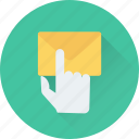 email, envelope, letter, message, touch icon
