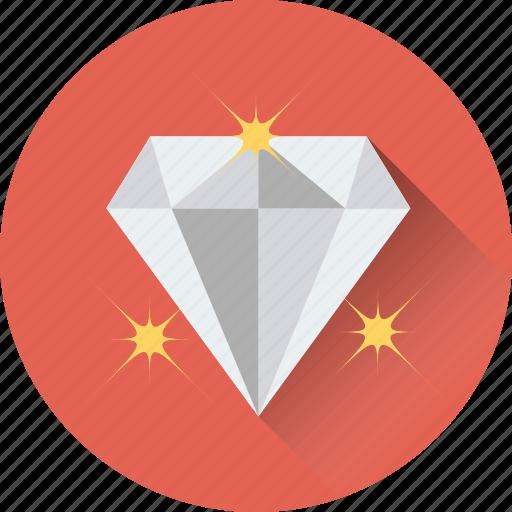 diamond, gem, gemstone, jewel, precious stone icon