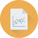 analysis, analytics, graph, graph report, report icon