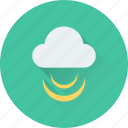 cloud, cloud signals, connection, signals, wireless internet icon