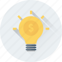 business idea, business plan, finance, idea, plan icon