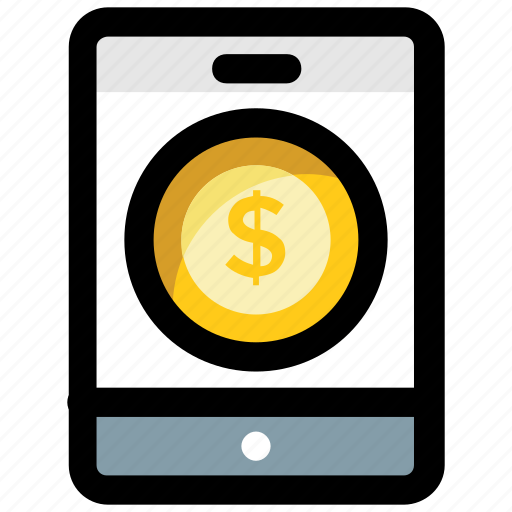 e banking, mcommerce, mobile banking, online payment icon