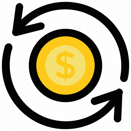 banking, currency exchange, foreign exchange, money exchange, money transfer icon