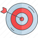aim, business, goal, marketing, seo, target icon