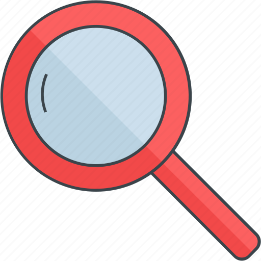 business, find, glass, magnifier, marketing, search, seo icon