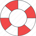help, information, lifebuoy, support icon