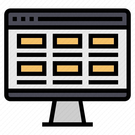 browser, inscreen, interface, internet, seo, website icon