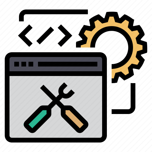 code, coding, development, programming, seo, web optimization, website icon