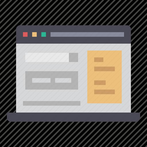 adsense, browser, marketing, onlie, sem, seo, website icon