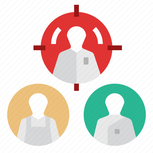 business, career, goal, marketing, personalization, personalization marketing, target icon