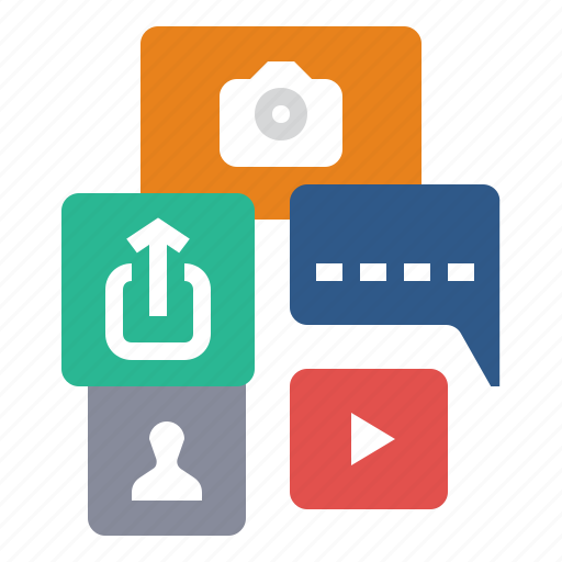 connection, network, online, share, social, social media icon