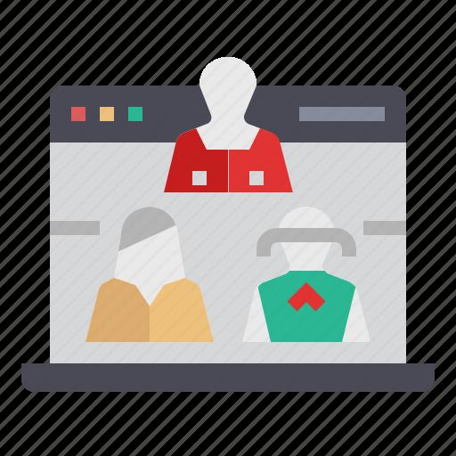 advertising, goal, marketing, target, visitor, website visitors icon