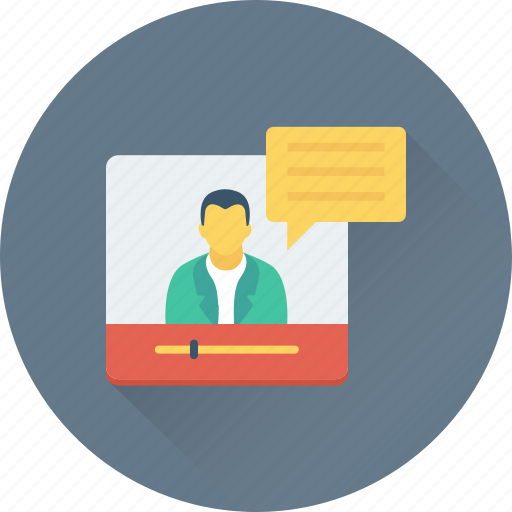 chatting, video call, video chat, video conference, web icon