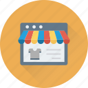 e commerce, marketplace, online shop, shop, website icon