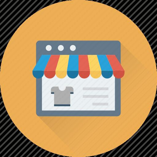 e commerce, marketplace, online shop, shop, website icon