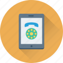 calling, mobile, mobile call, phone, smartphone icon