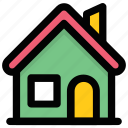 cabin, cottage, home, house, villa icon