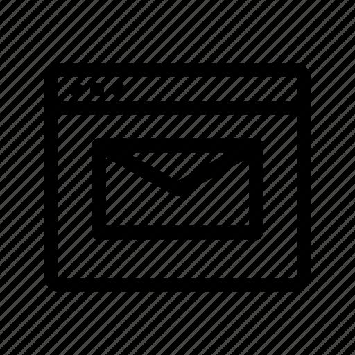 digital, email, emarket, marketing, shopping icon