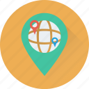 location pin, location marker, map locator, map pin, location pointer icon