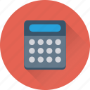 calculation, accounting, calculator, maths, digital calculator icon