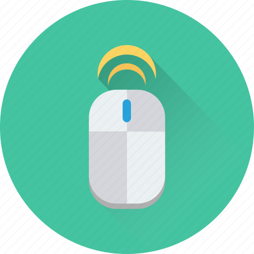 computer mouse, computing, input device, pointing device, wireless mouse icon