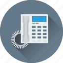 digital phone, contact us, telephone, phone, landline icon