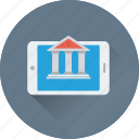 account, mobile bank, iphone, payment, finance icon