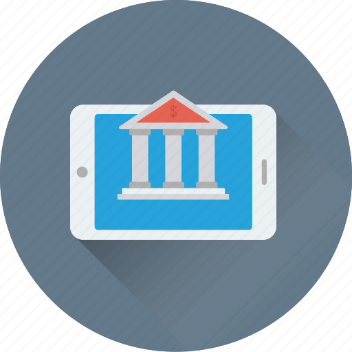 account, finance, iphone, mobile bank, payment icon