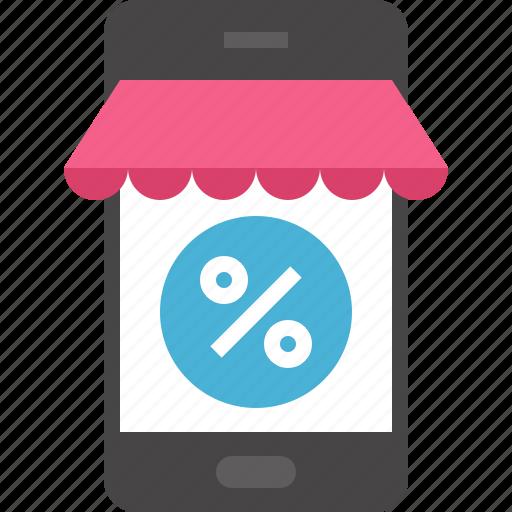 commerce, ecommerce, market, marketing, mobile, shop, shopping icon