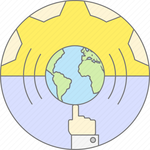 earth, financial, globe, growth, market, success, world icon