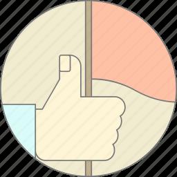 branding, community by interest, flag, like, social media icon