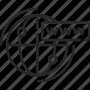 internet, web, browser, globe, website