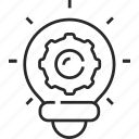 idea, bulb, creative, innovation