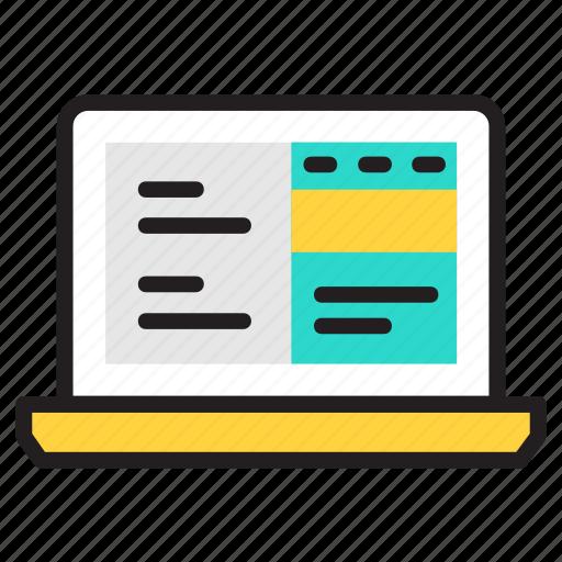 coding, design, html, web, web design icon icon