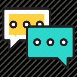 advice, chat, communicate, communication, conversation, talk, talking icon icon
