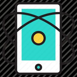 marketing, mobile icon icon