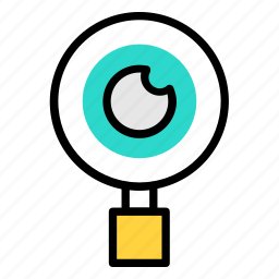 eye, monitoring, vision icon icon