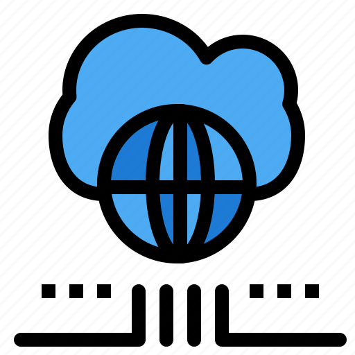 Cloud, marketing, network, world icon - Download on Iconfinder