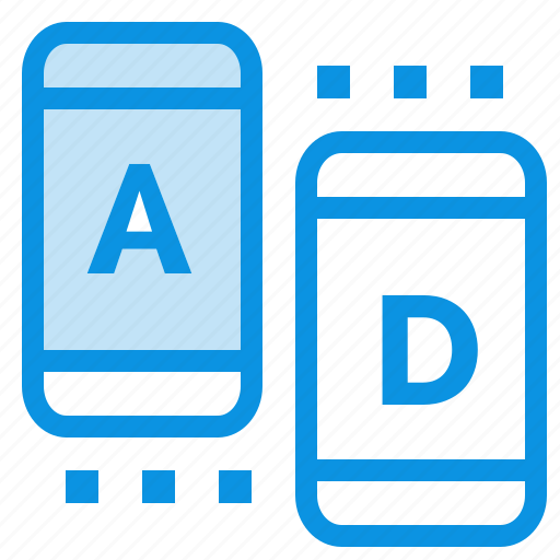 ad, marketing, online, tablet icon