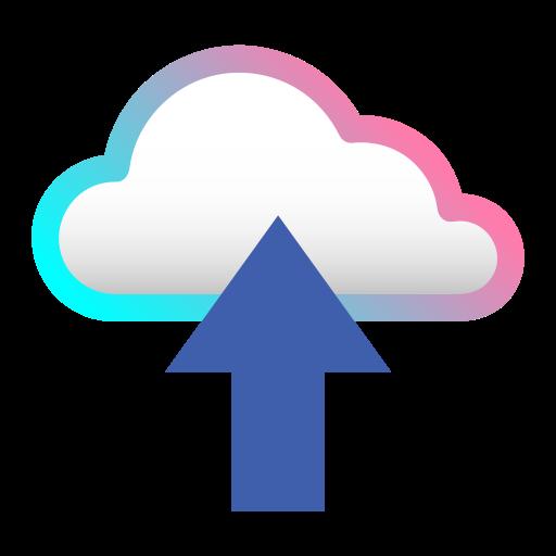 cloud, database, internet, network, server, storage, upload icon