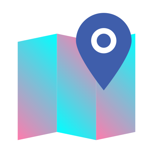 destination, journey, location, map, navigation, pin, position icon