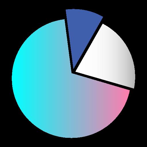 business, diagram, infographic, marketing, pie chart, presentation, statistics icon
