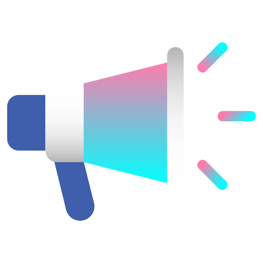 advertising, announcement, business, commercial, marketing, megaphone, promotion icon
