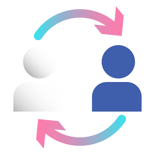 communication, community, connection, diversity, exchange, networking, relationship icon