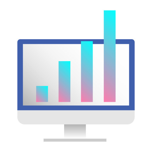 chart, data, growth, infographic, information, presentation, statistics icon
