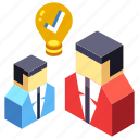 brainstorm, brainstorming, company, corporate, meeting, teamwork, workshop icon