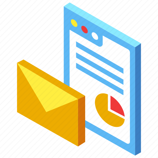 advertising, content, email, marketing, newsletter icon