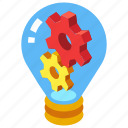 creative, idea, innovation, innovative, inspiration, lightbulb icon