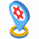 geomarketing, localization, location, map, optimization, placeholder icon