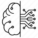 circuit, cloud icon